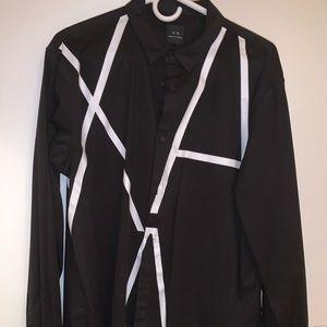 Armani Exchange men large shirt regular cut